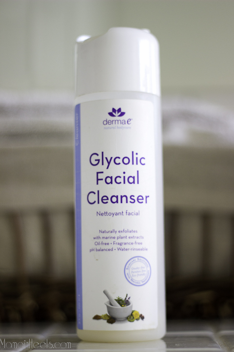 Cleanser facial glycolic acid