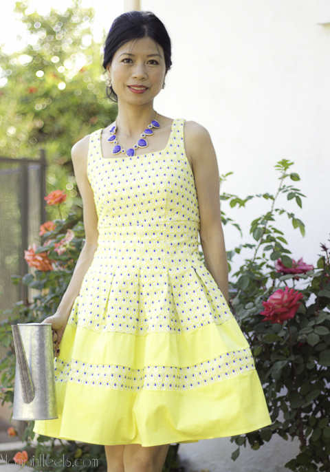 yellow tea dress_1