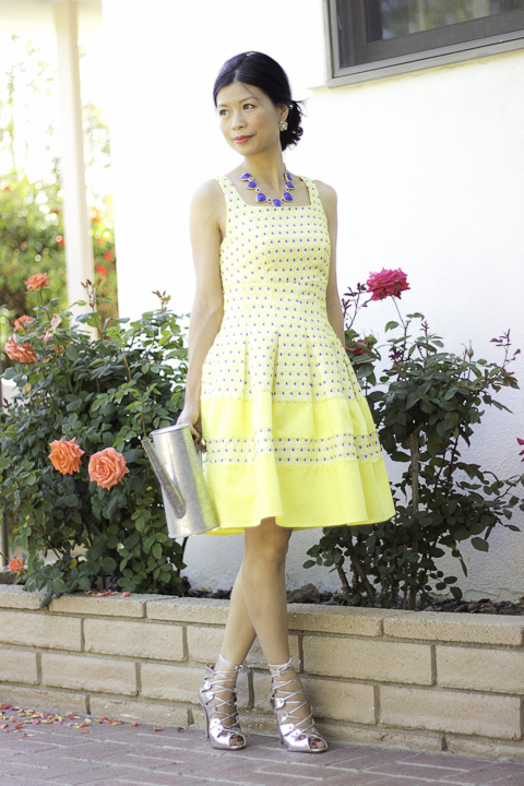 yellow tea dress_2