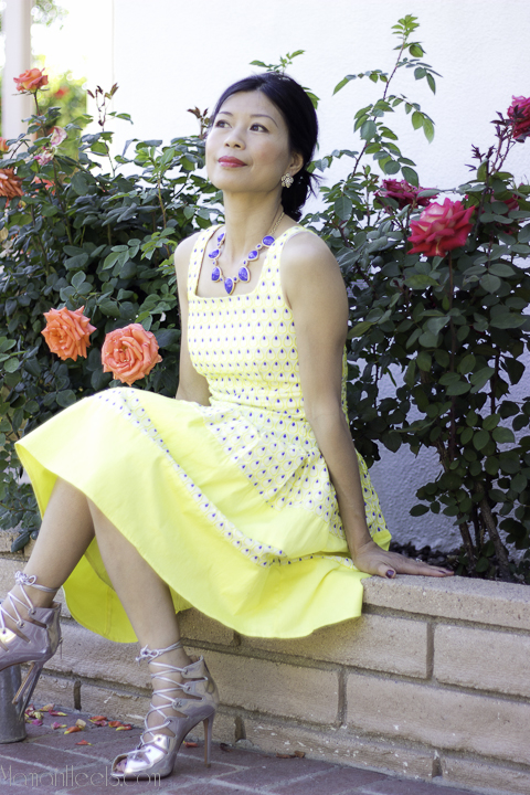 yellow tea dress_3