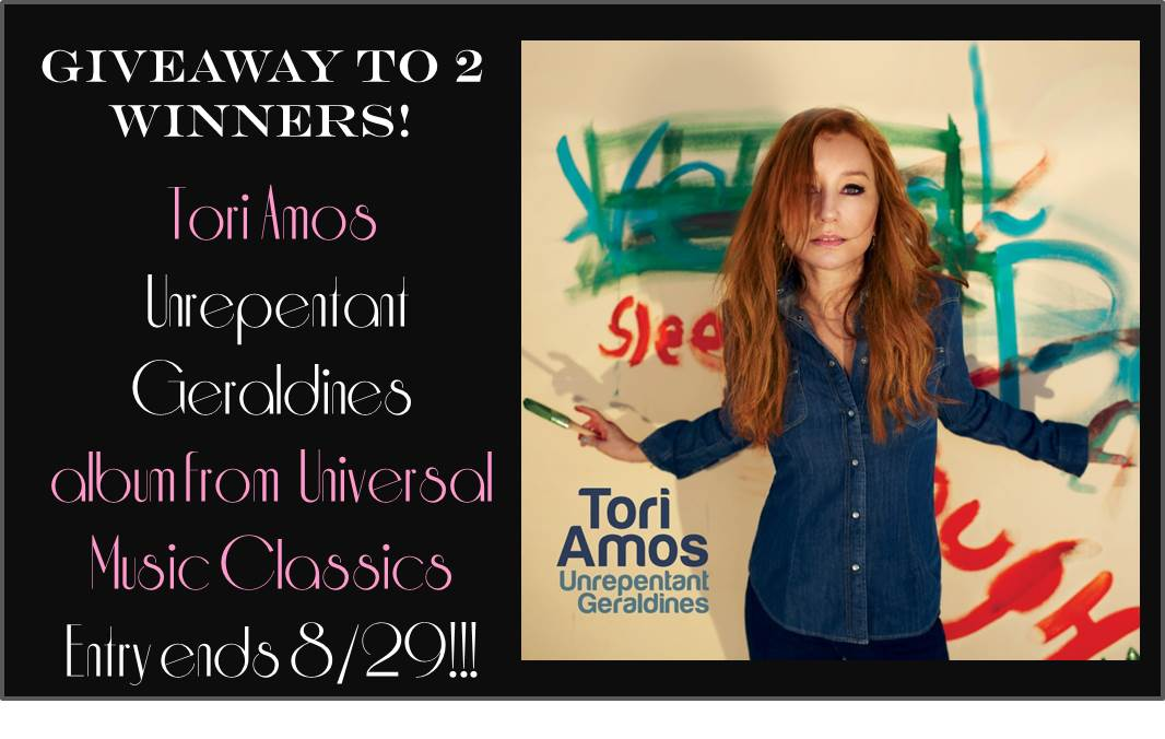 Tori Amos Unrepentant Geraldines Giveaway