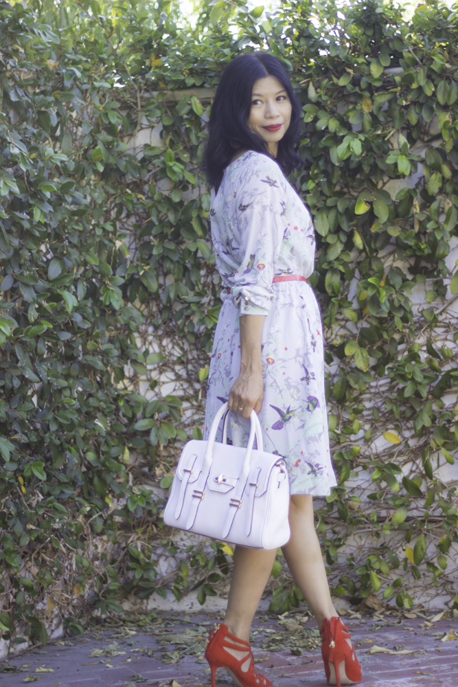 fall fashion floral dress-1