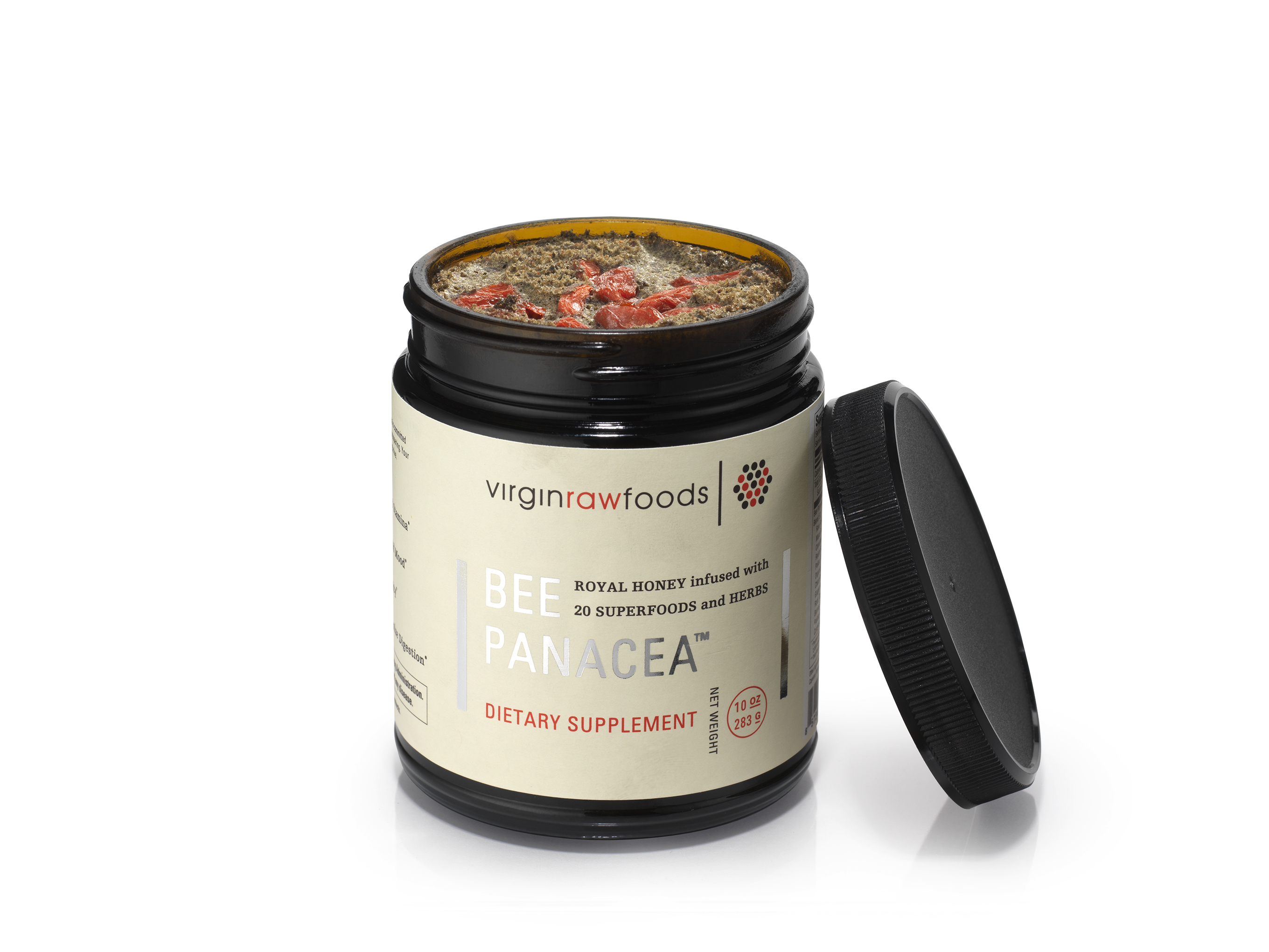 VRF Bee Panacea 10oz lid open_0143