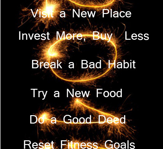 2015 Goals Resolutions