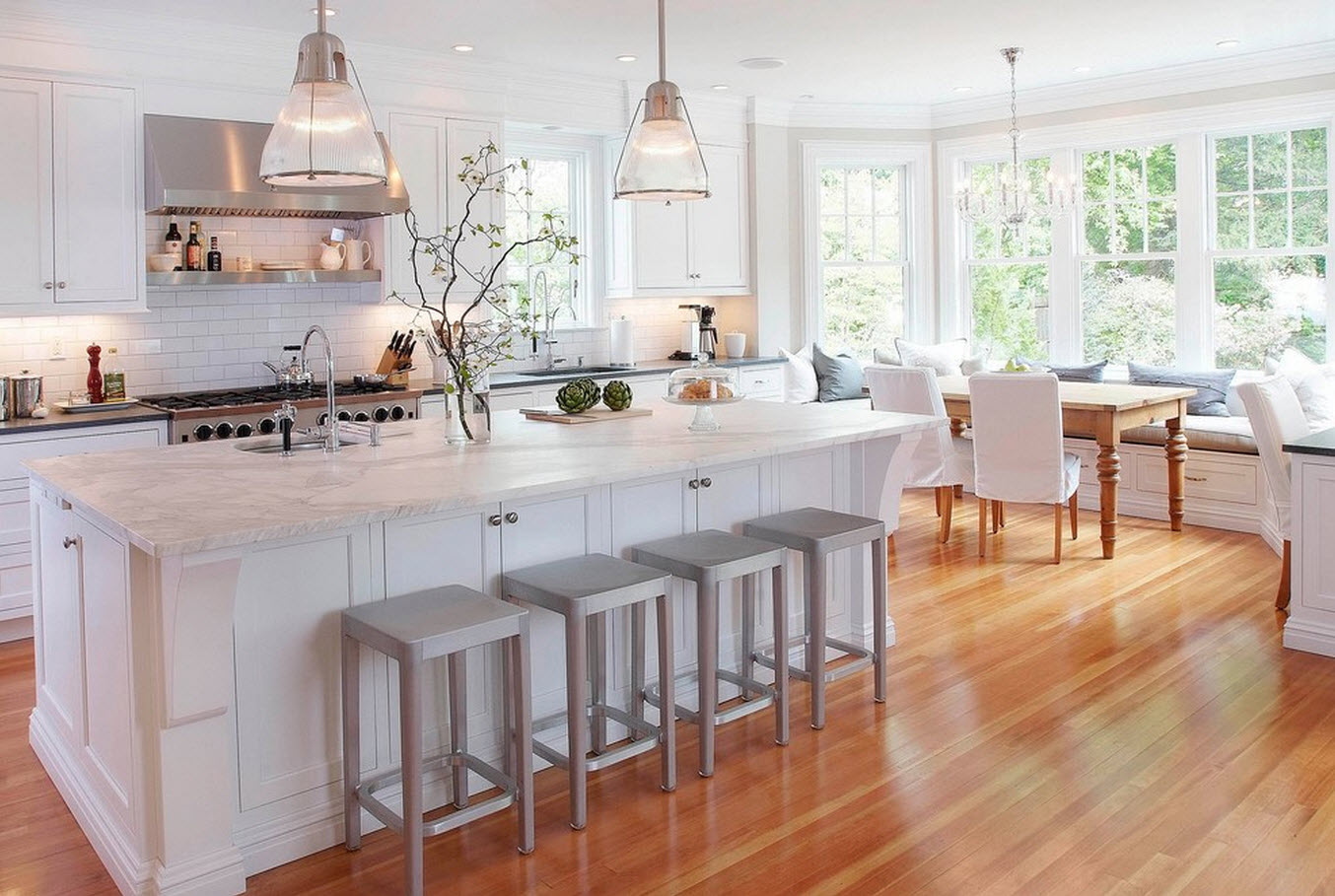 Wood Floor For Kitchens Decor Inspiration Kitchen Plans Mama In Heels
