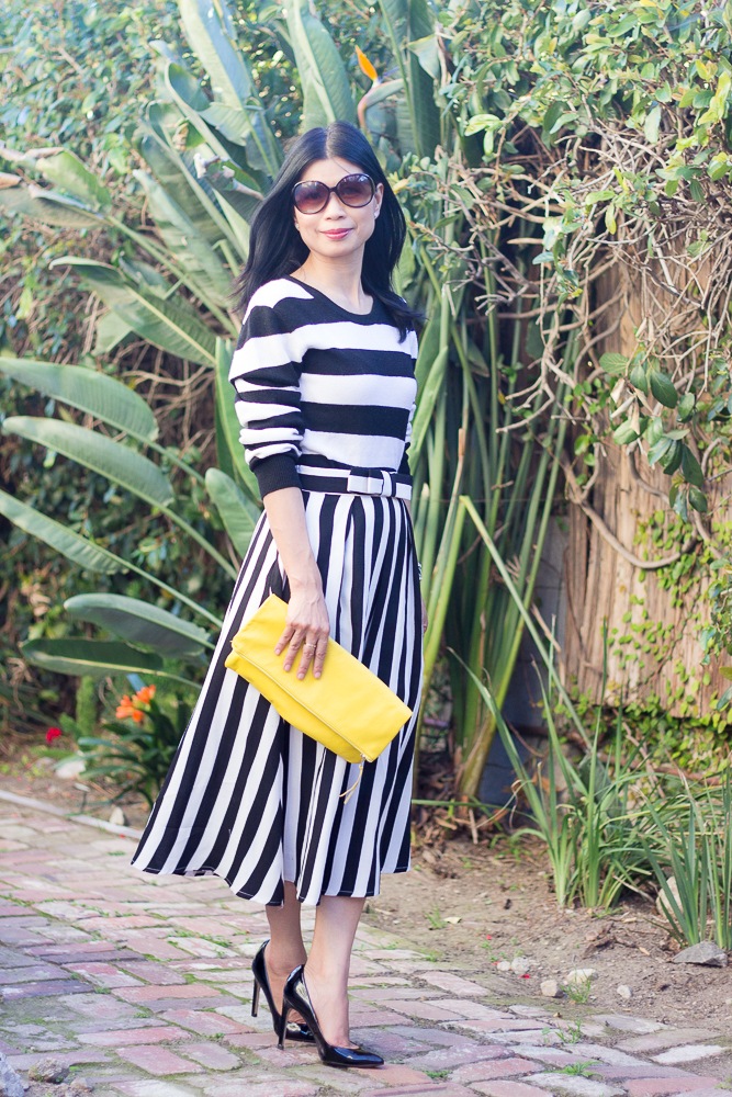 Striped Skirt-1