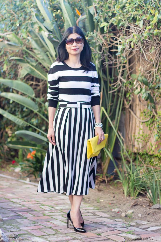 Striped Skirt-3