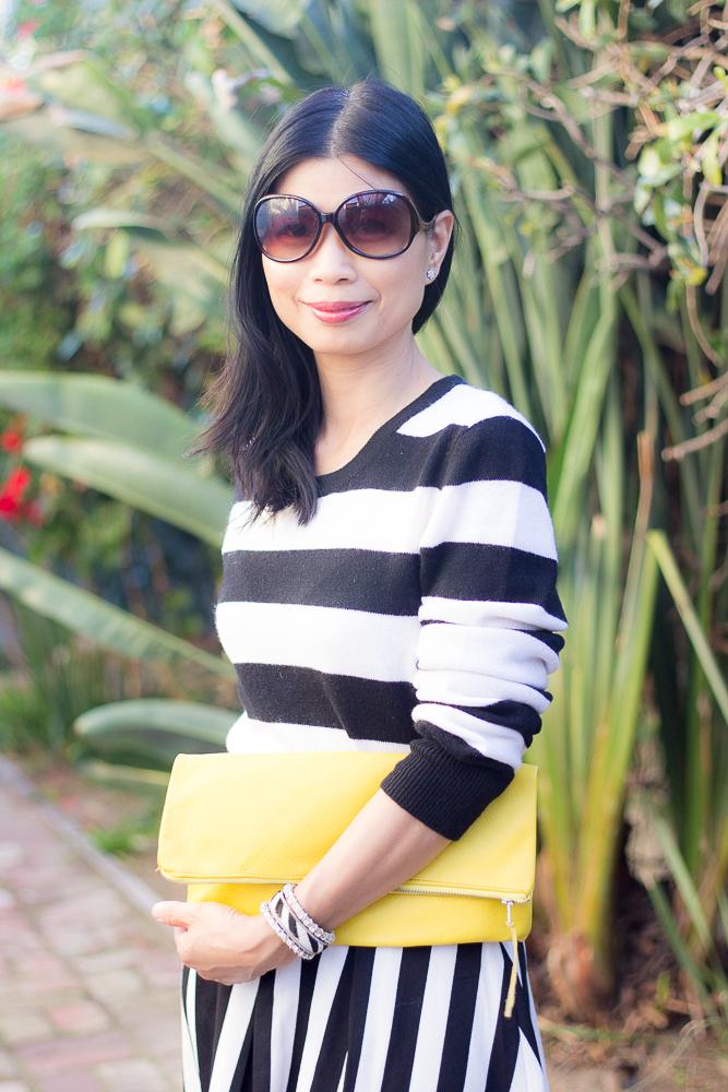 Striped Skirt-8