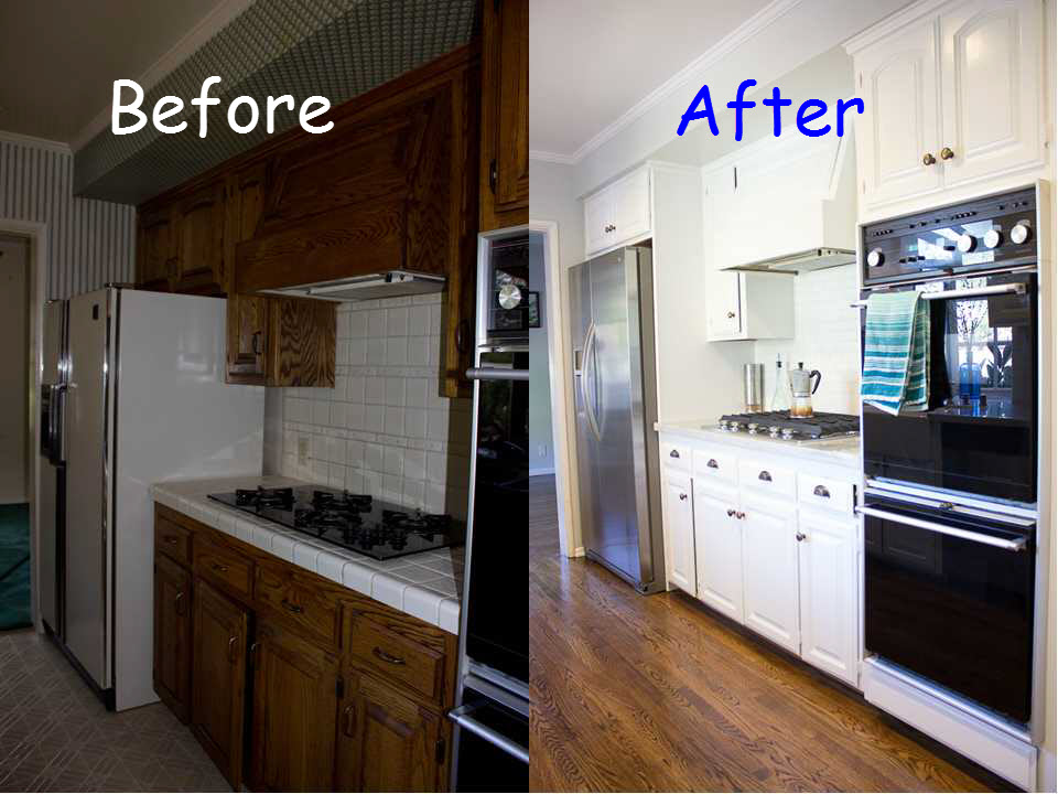 Before And After Kitchen Makeovers Small