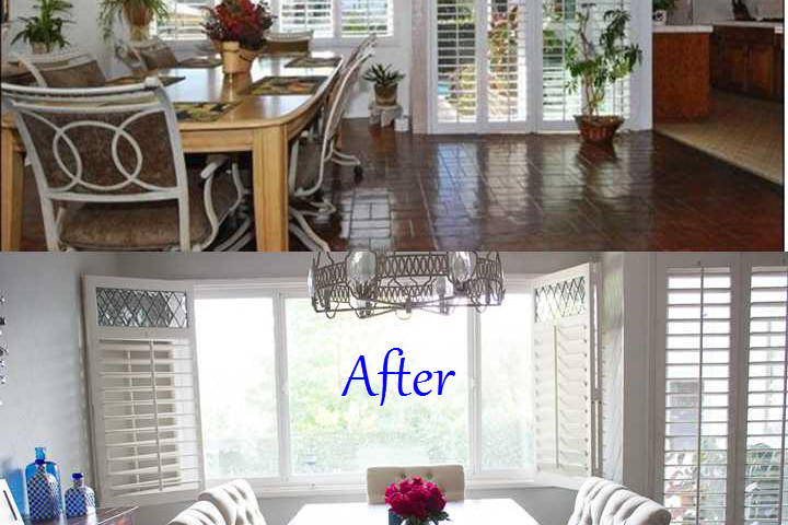 Before and After Dining room 2