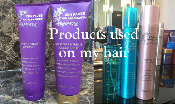 Ken Paves You are Beautiful Products Used