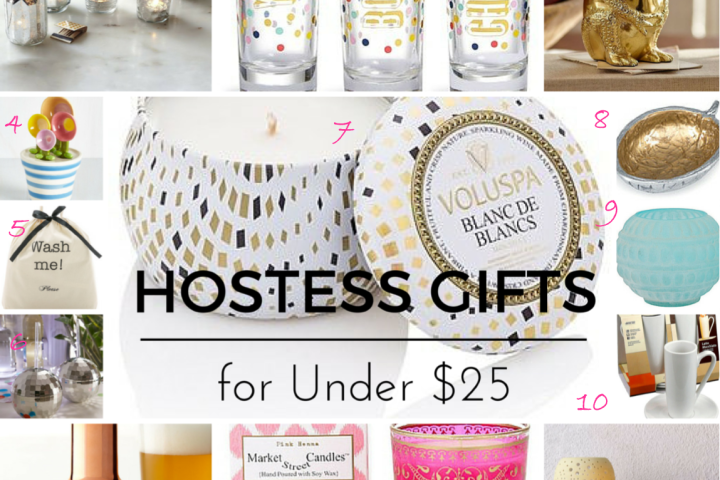 hostess gifts under $25 2015