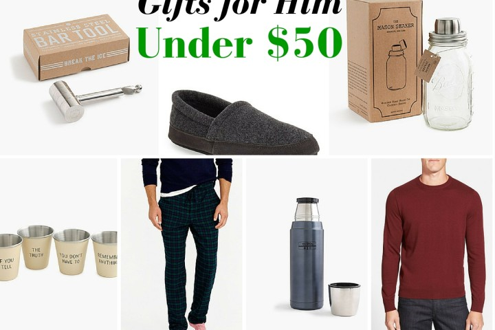 gifts for him under 50