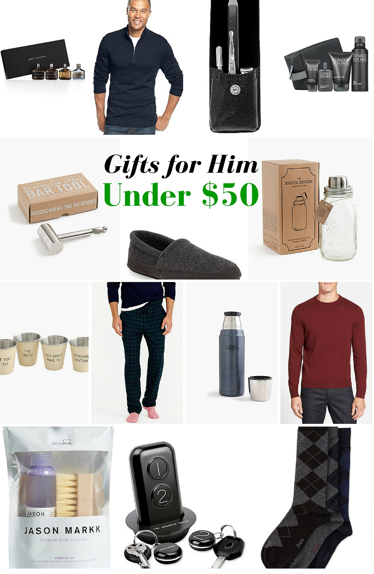gifts for him under 50 - Mama In Heels