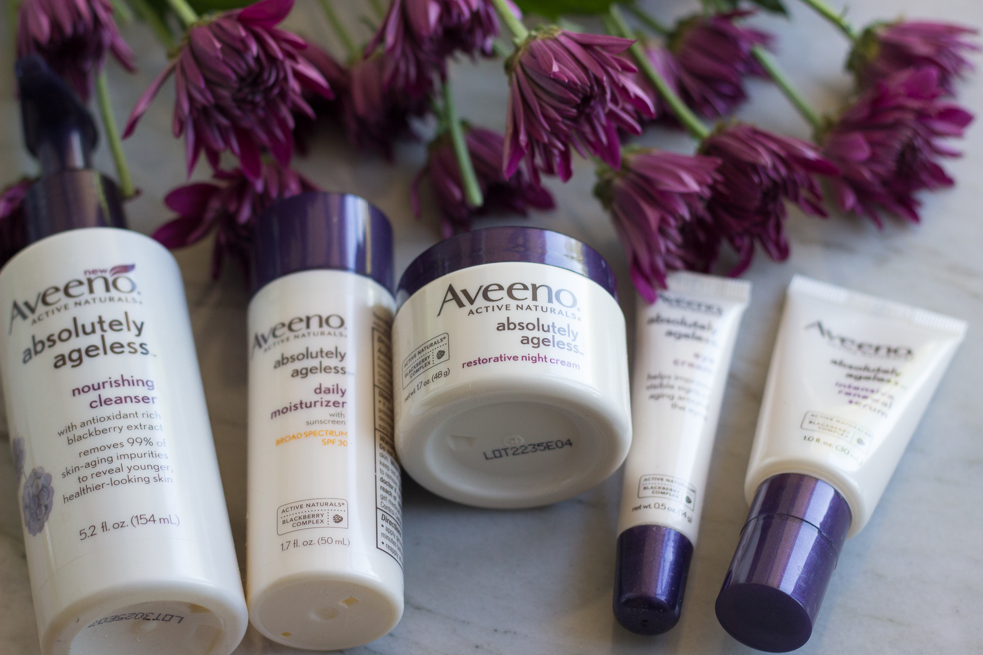Introducing AVEENO® Absolutely Ageless™ - Mama In Heels