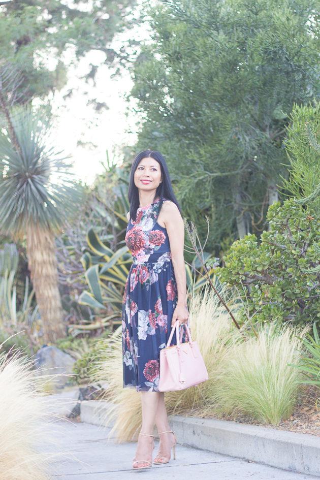 floral midi dress-1-3