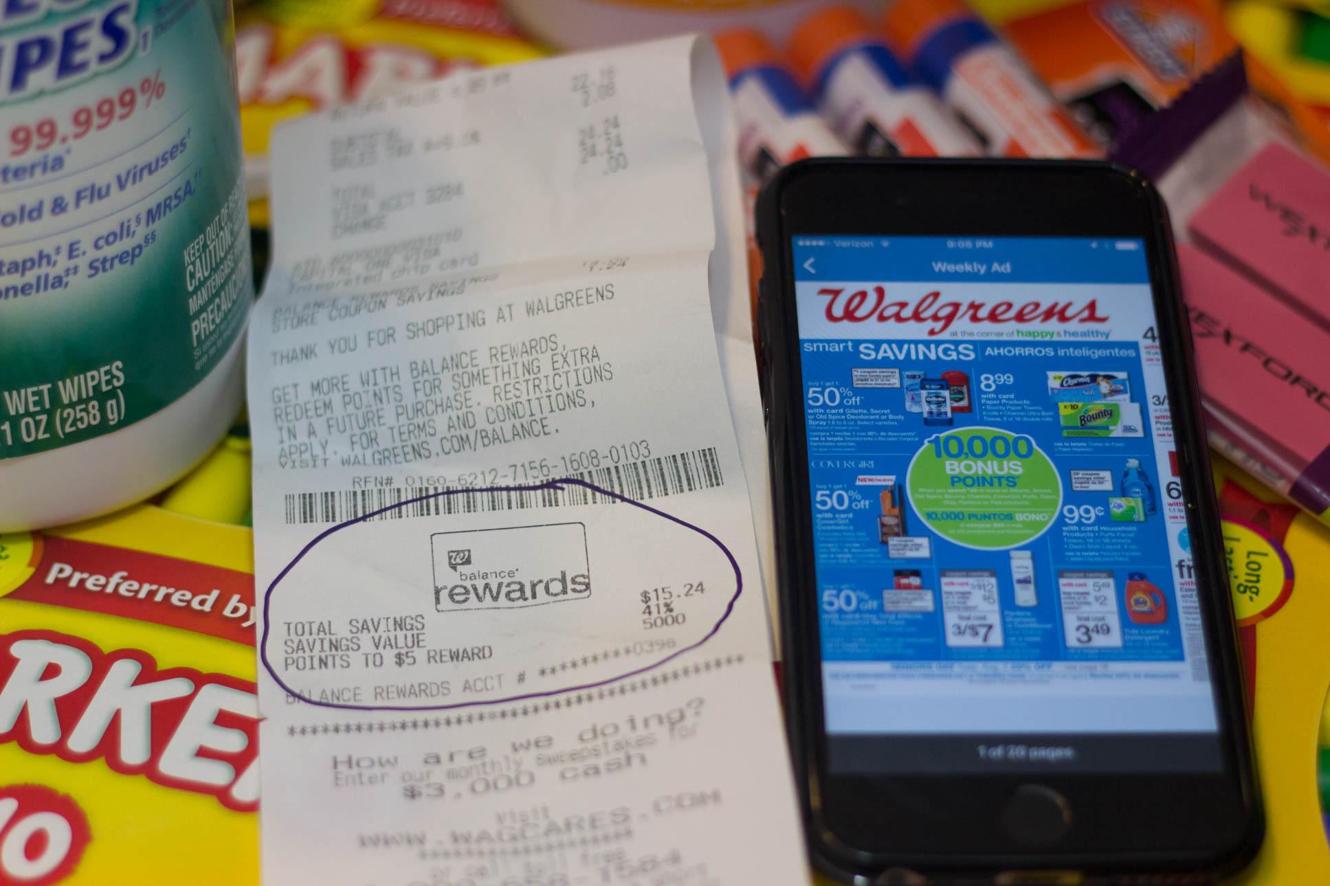 Walgreens photo mobile app - Thompson vacations
