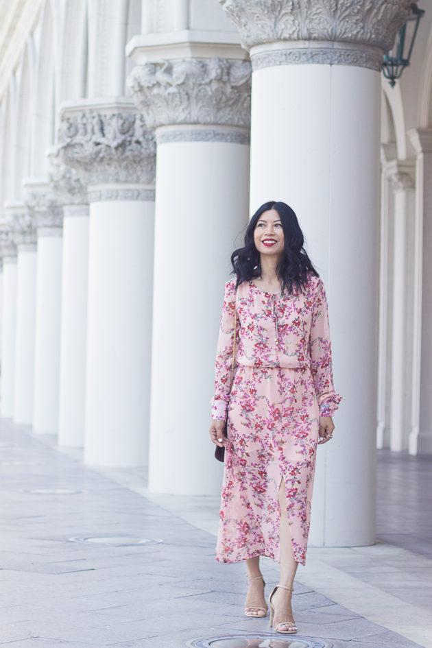 boho print dress-1-2