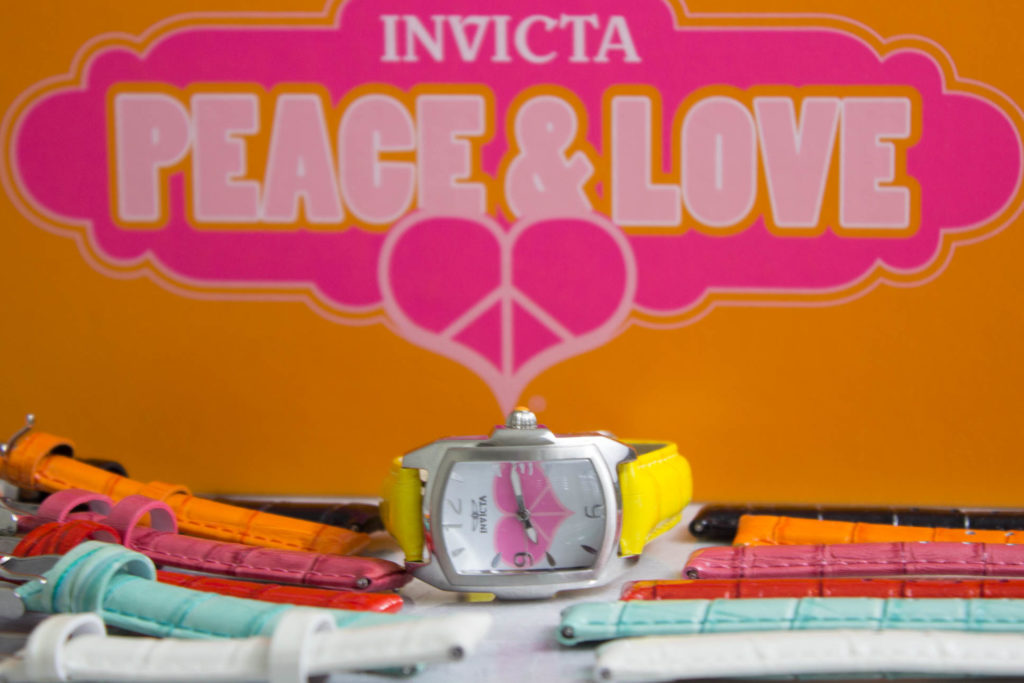 Invicta Watch & Silvertone Slide Bracelets #peaceandlovejewelry Giveaway!