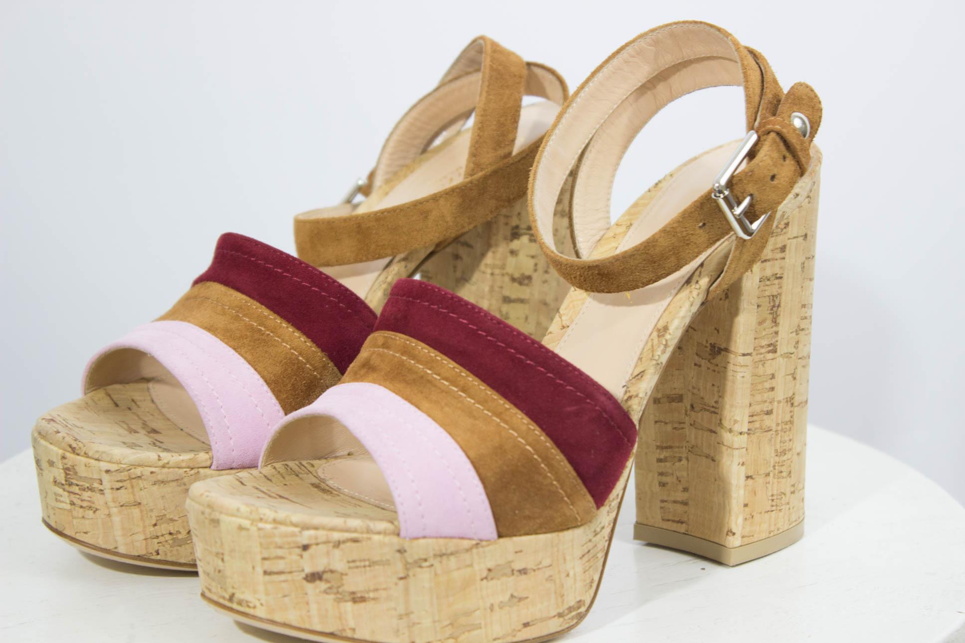 8ee15965065 In Her SHOES  Suede Platform Sandals - Mama In Heels