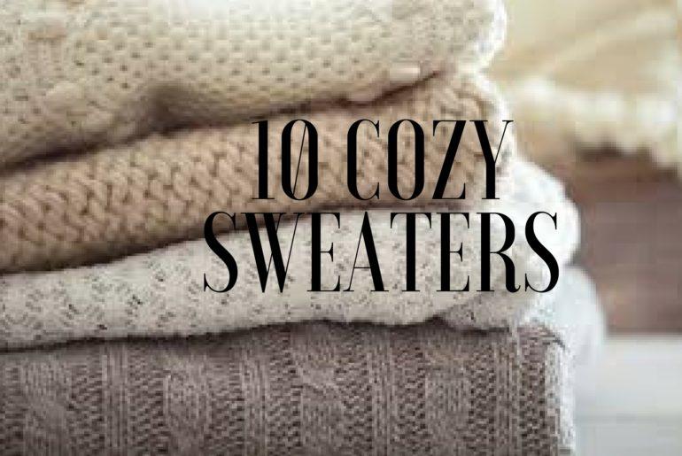 cozy sweaters