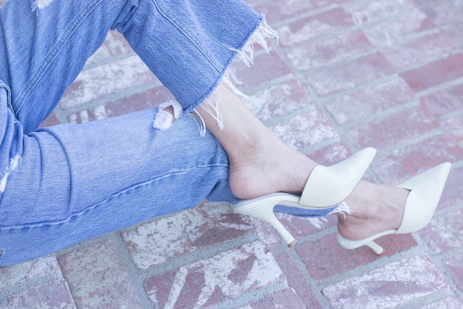 In Her SHOES: Sweetheart Mules
