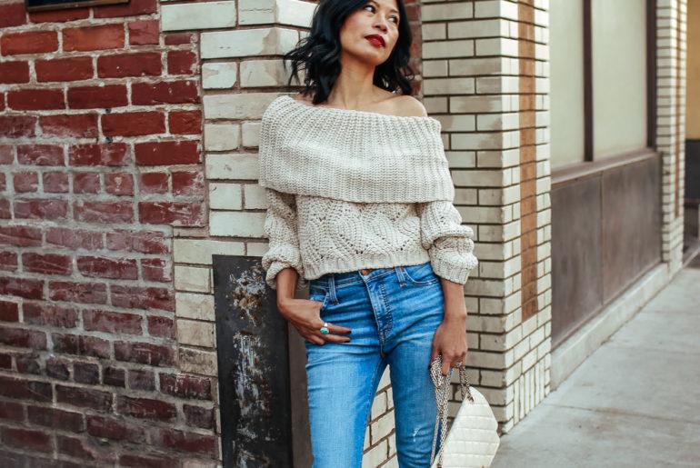d844111a140fc Best Shoulder-Baring Sweaters That Won t Break Your Bank